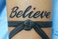 My New Tattoo When We Did Boot Camp For Our Black Belts Our Motto with regard to proportions 2448 X 3264