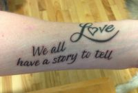 My Tattoo In Honor Of To Write Love On Her Arms To Raise Awareness with regard to dimensions 2048 X 1536