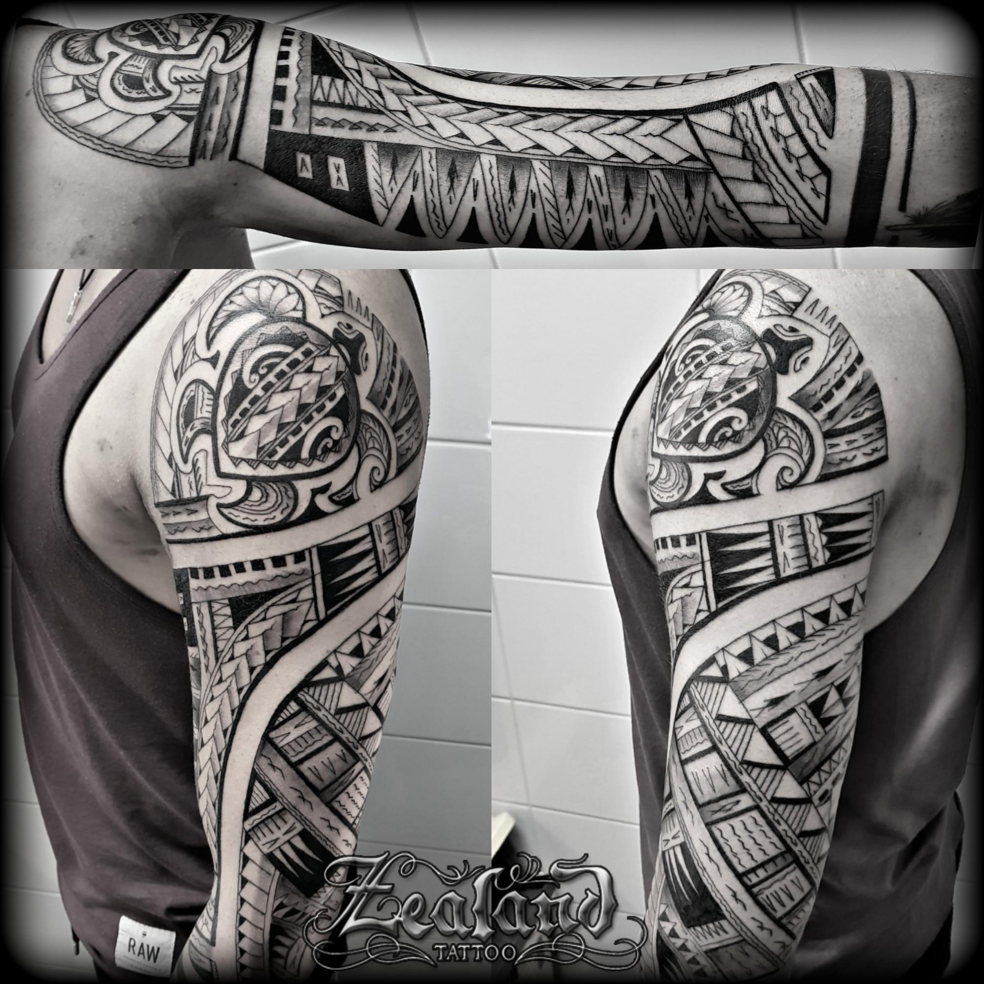 Polynesian Arm Tattoo Zealand Tattoo inside dimensions 2008 X 2008