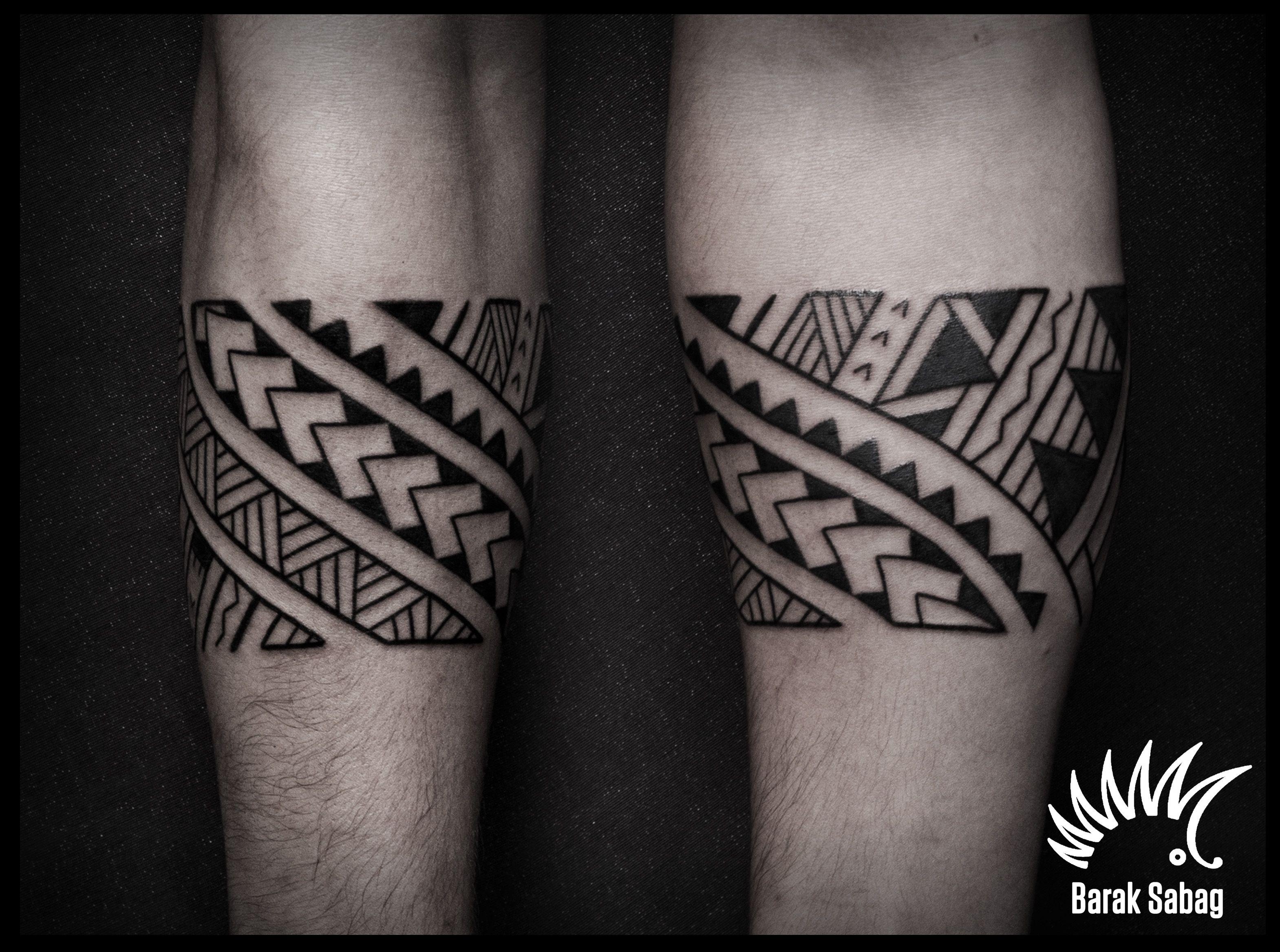 Polynesian Armband Tattoo Barak Sabag Kipoddgmail Tattoos with regard to size 3140 X 2335
