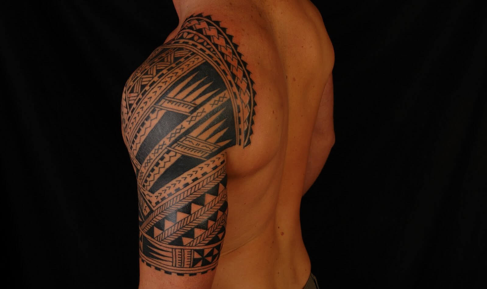 Power 70 Best Tribal Tattoos For Men Improb with proportions 1598 X 950