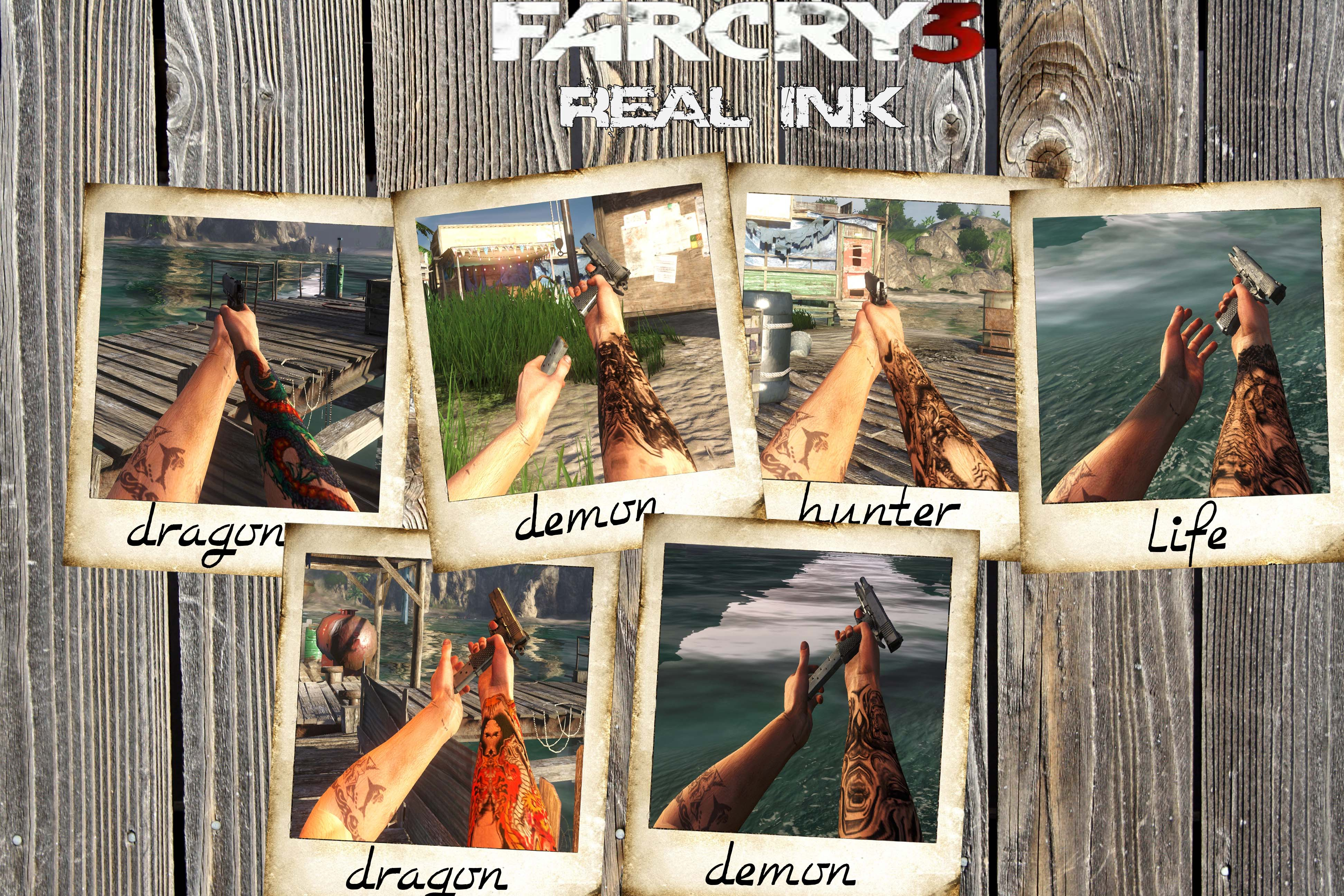 Far Cry 3 Right Arm Tattoo Arm Tattoo Sites