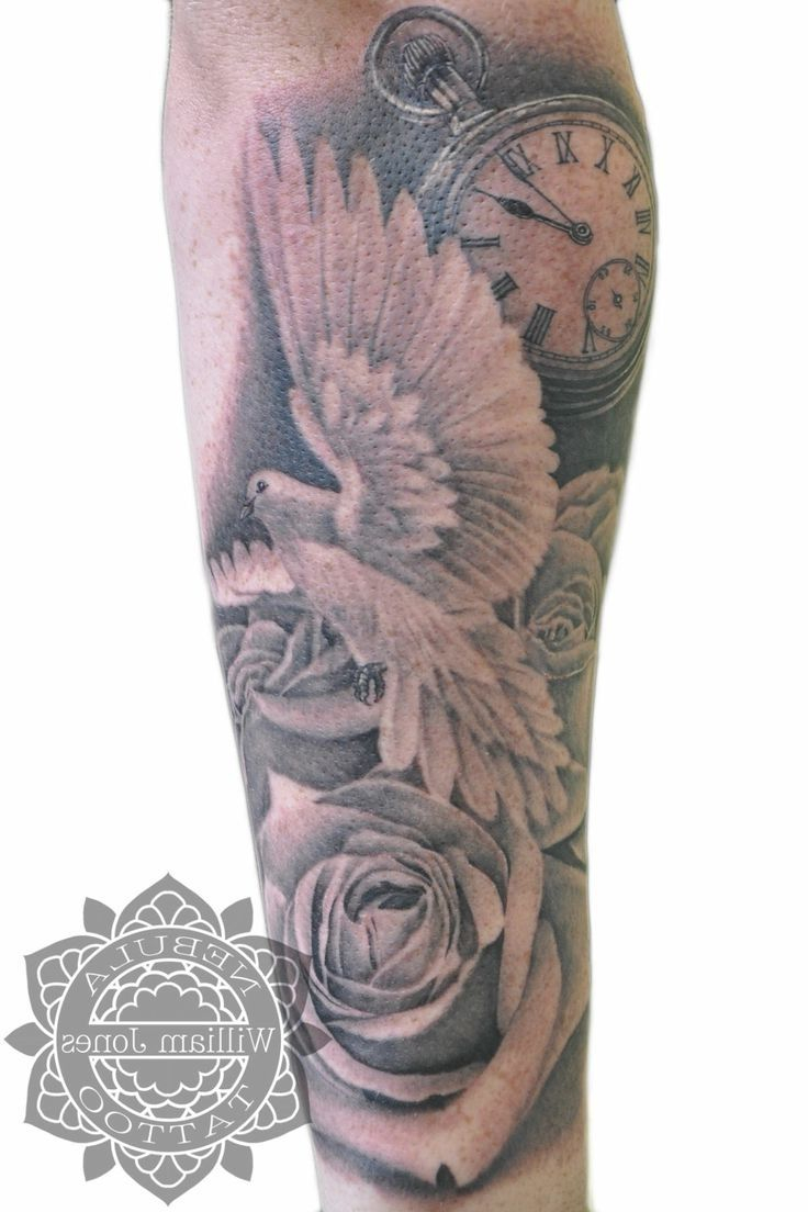Rose Sleeve Tattoo Designs For Men Half Sleeve Tattoos Forearm inside dimensions 736 X 1104