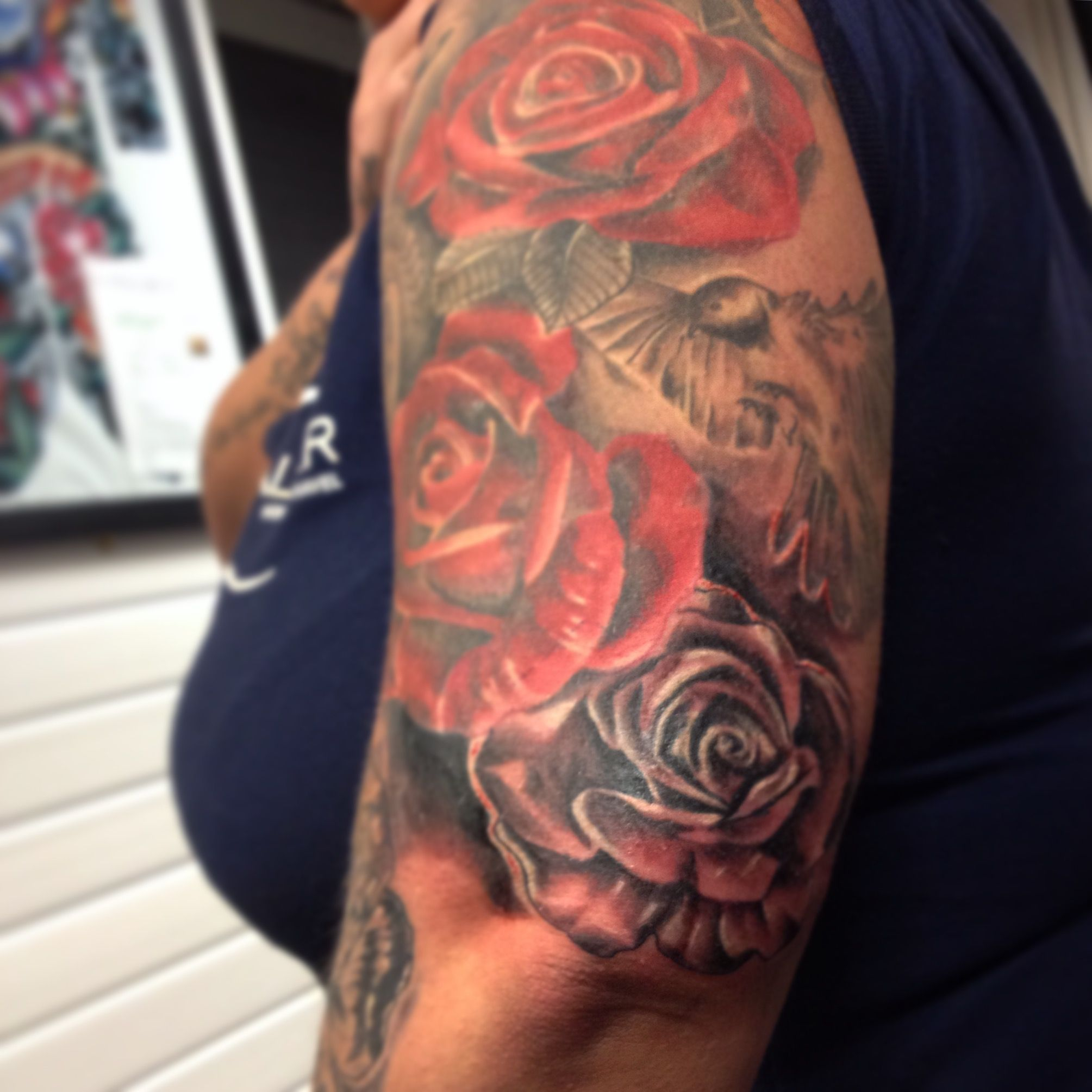 Upper Arm Sleeve Tattoos For Females Arm Tattoo Sites