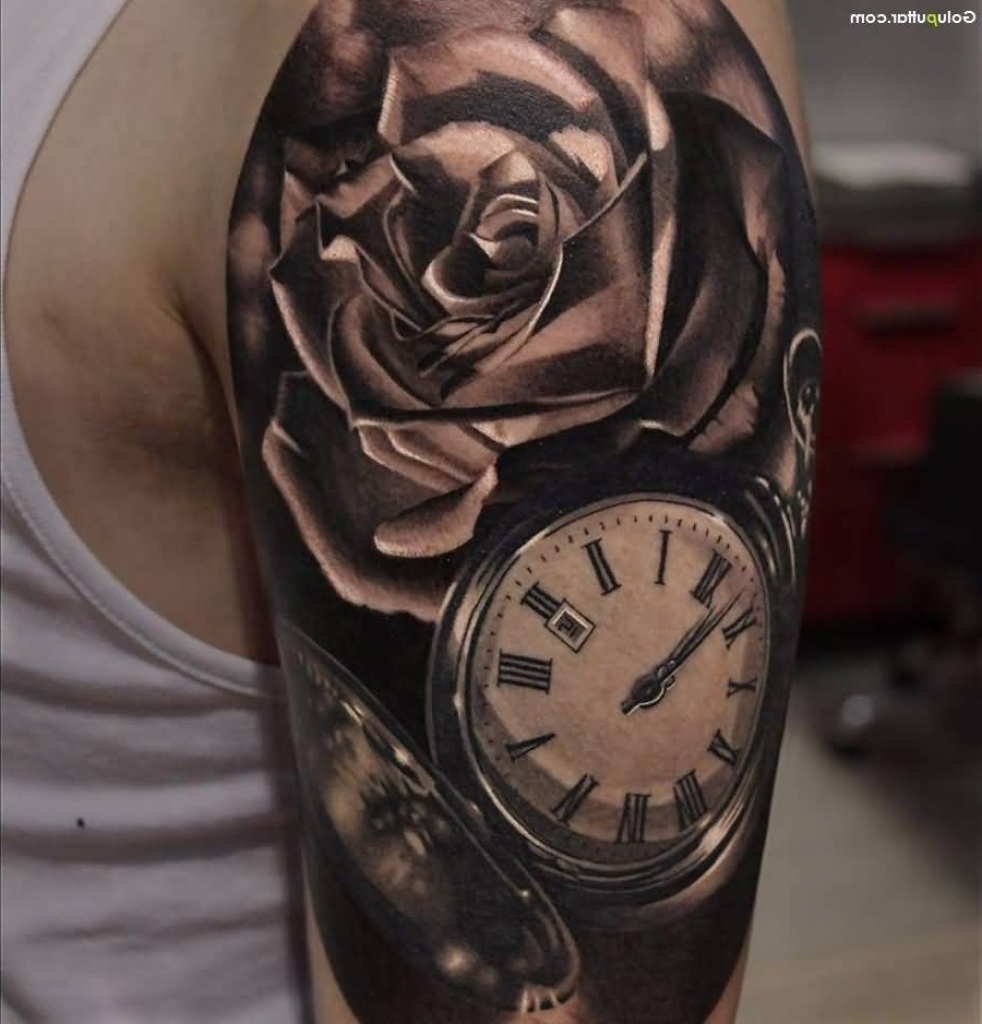 Rose Tattoos Upper Arm Upper Arm Rose Tattoos Body Tattoo Art pertaining to dimensions 982 X 1024