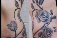 Rose Vine Tattoo Designs Rose Tattoo Skyn Yard Picture Best intended for measurements 1592 X 1974