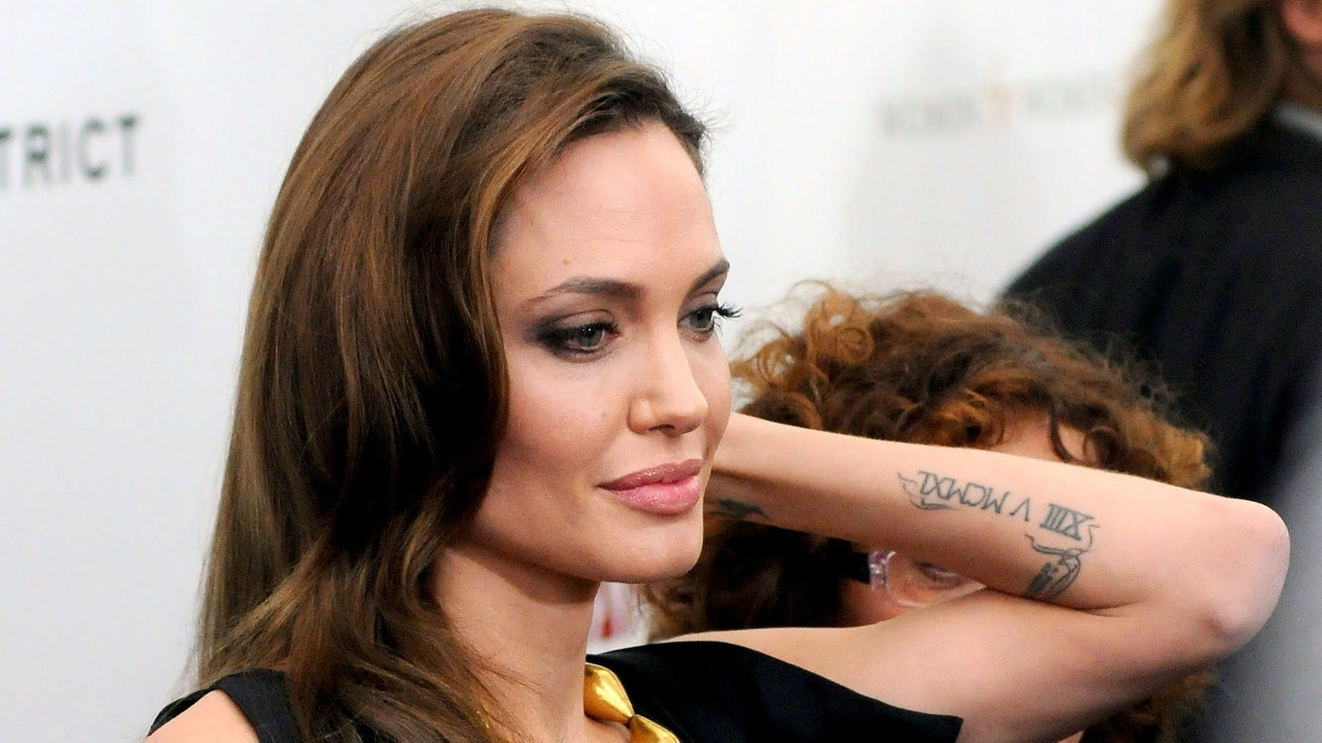 Sacred Fearless Angelina Jolie Tattoo Designs And Meaning Check More intended for size 1920 X 1080