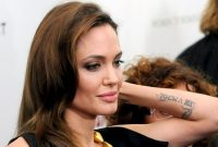 Sacred Fearless Angelina Jolie Tattoo Designs And Meaning Check More with regard to dimensions 1920 X 1080
