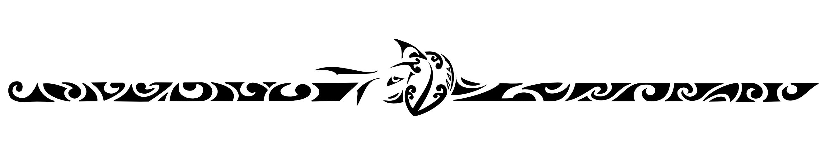 Samoan Armband Tattoo Maori Tattoo Design Face And Armband within dimensions 2667 X 500