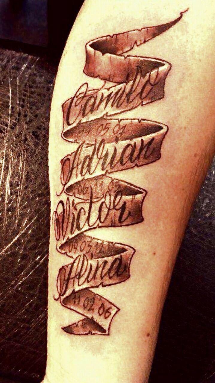 Mens Arm Name Tattoos Arm Tattoo Sites