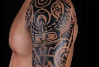Shoulder Tattoos For Men Mens Shoulder Tattoo Ideas With Tattoo On in size 782 X 1024