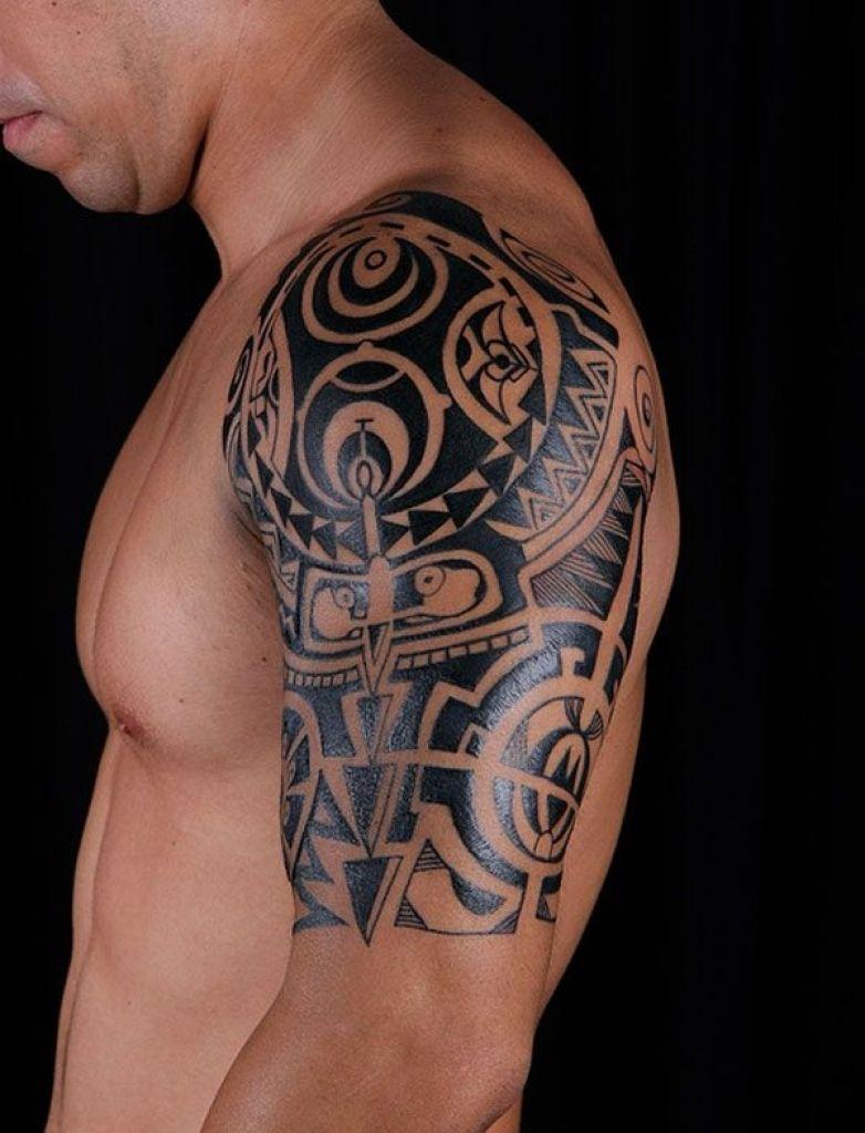Tribal Arm Shoulder Tattoo Designs Arm Tattoo Sites