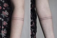 Single Line Arm Band For Julia Rachainsworth Berlintattoo pertaining to dimensions 1024 X 1024
