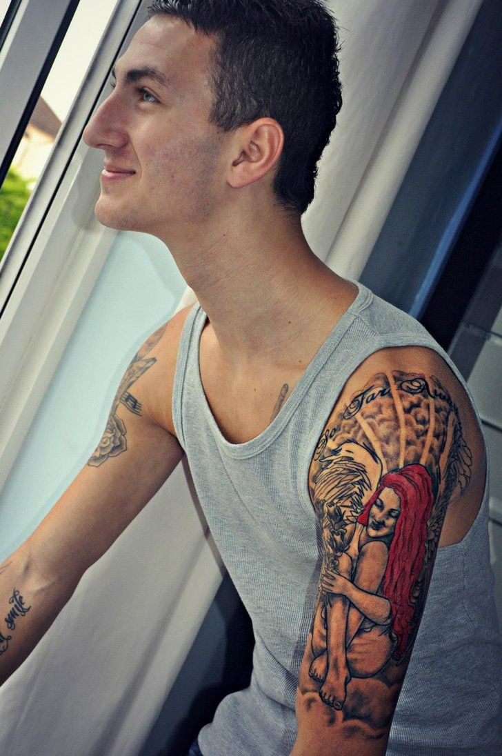 Skinny Guys With Tattoos 18 Best Tattoo Designs For Slim Guys in measurements 728 X 1096