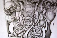 Skull Half Sleeve Tattoo Designs Half Sleeve For A Tattoo with regard to measurements 774 X 1032