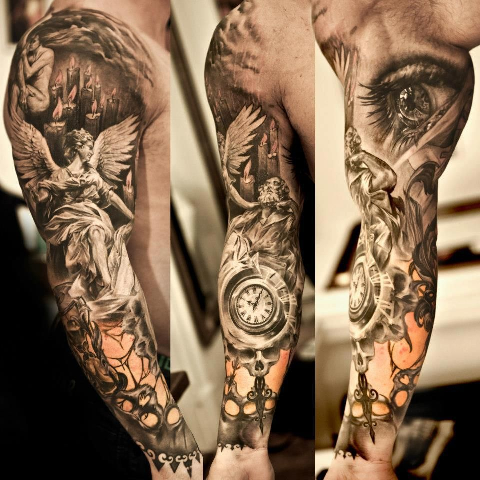 Sleeve Tattoo Oh My God Theres So Much Detail Tattooish for measurements 960 X 960