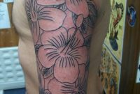 Sleeve Tattoos For Women Flower Half Sleeve Tattoos Designs And with size 768 X 1024