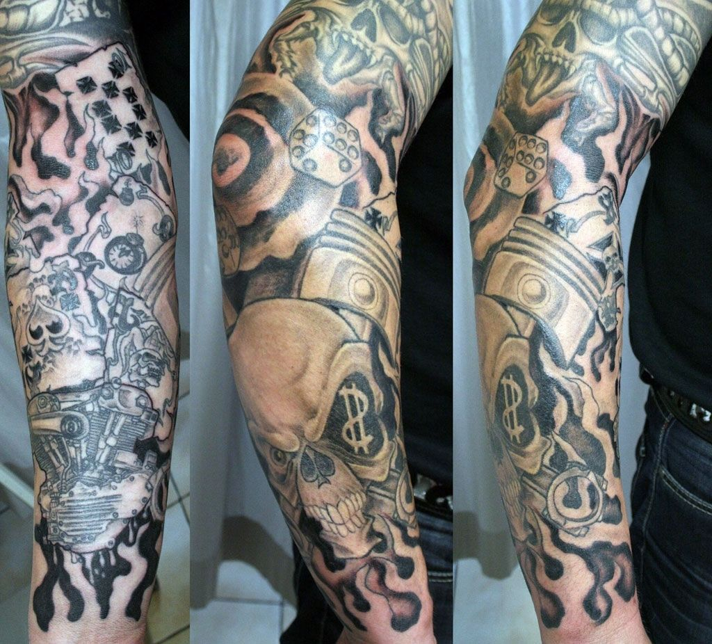 Lower Arm Sleeve Tattoos For Men Arm Tattoo Sites
