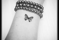 Small Butterfly Tattoo On Wrist within size 1176 X 1176