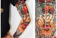 Tattoo Arm Sleeve Men Summer Sleeves Warmers Block Nylon Casual throughout size 1000 X 1000