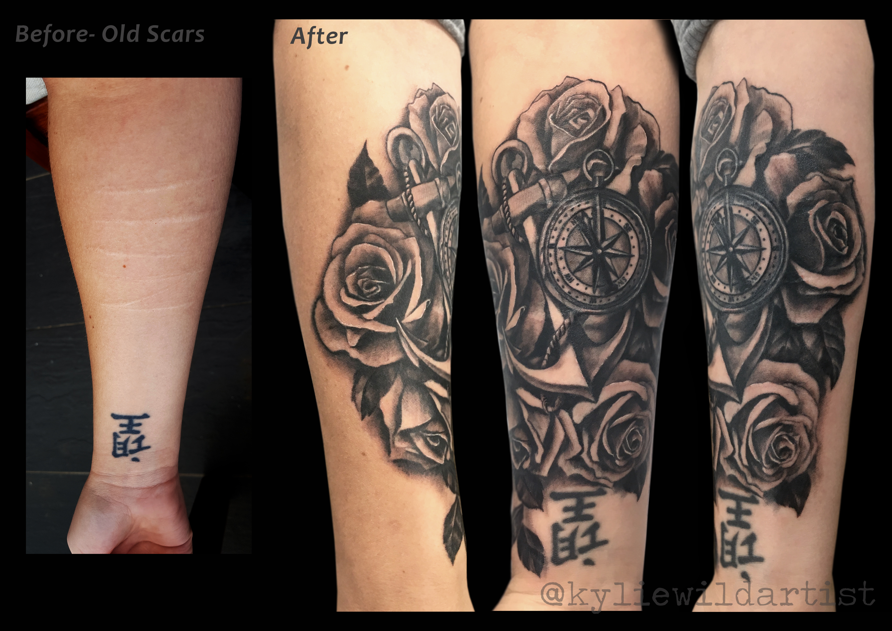 Cover Up Tattoo Ideas For Lower Arm • Arm Tattoo Sites