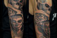Tattoo Skull Woman Rose Arm Tattoo Marecuza Tattoo Piercing regarding sizing 2048 X 2048