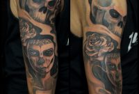 Tattoo Skull Woman Rose Arm Tattoo Marecuza Tattoo Piercing throughout sizing 2048 X 2048