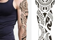 Temporary Tattoos Sticker Large Full Arm Sleeve Waterproof 3d Makeup with regard to size 1200 X 1200