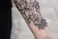 The Shading And Cluster Size And Outline Is Perfect Love Tats with sizing 750 X 1334