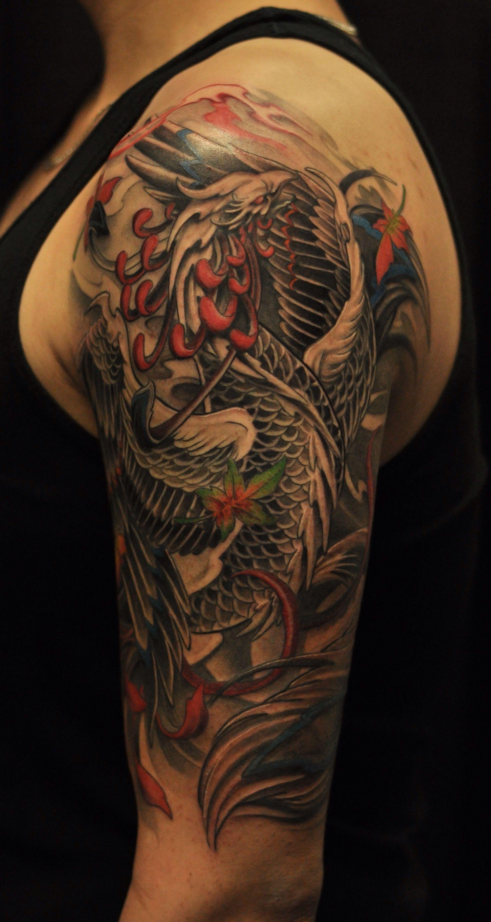 Phoenix Arm Tattoos • Arm Tattoo Sites
