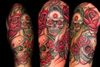 Top 20 Sugar Skull Tattoos Of 2013 in proportions 1200 X 857