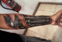 Top 80 Best Biomechanical Tattoos For Men Improb regarding sizing 1200 X 774