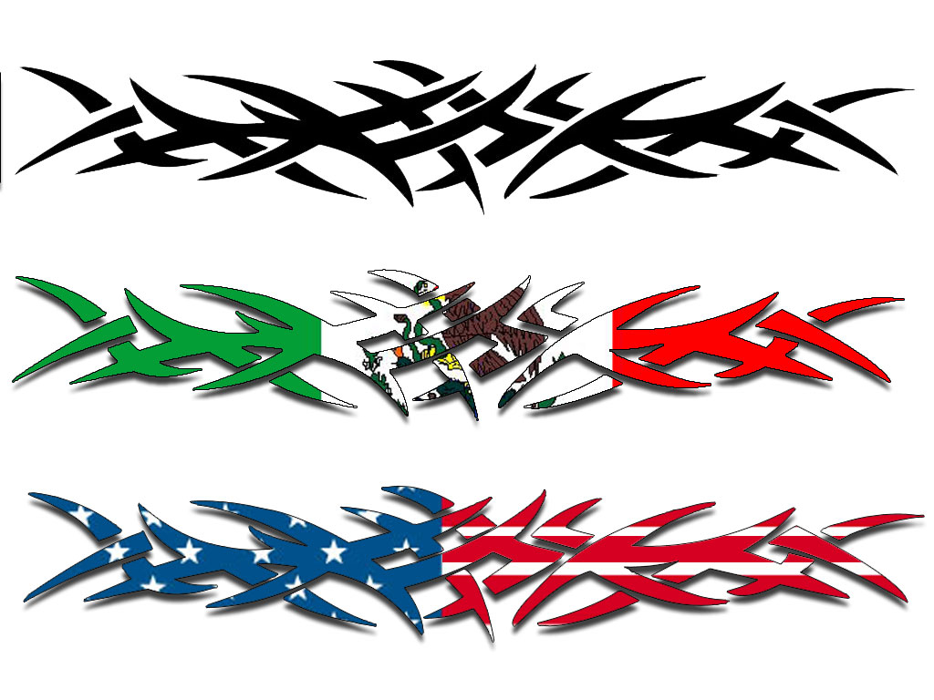Tribal Arm Band Tatoo Techii On Deviantart throughout proportions 1024 X 768