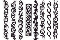 Tribal Black Armband Tattoos Design for size 1750 X 1375