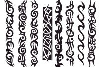 Tribal Black Armband Tattoos Design pertaining to proportions 1750 X 1375