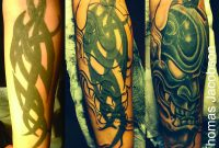 Tribal Cover Up Tattoo Tattoo Thomas Jacobson Gallery 1010 with proportions 3300 X 2550