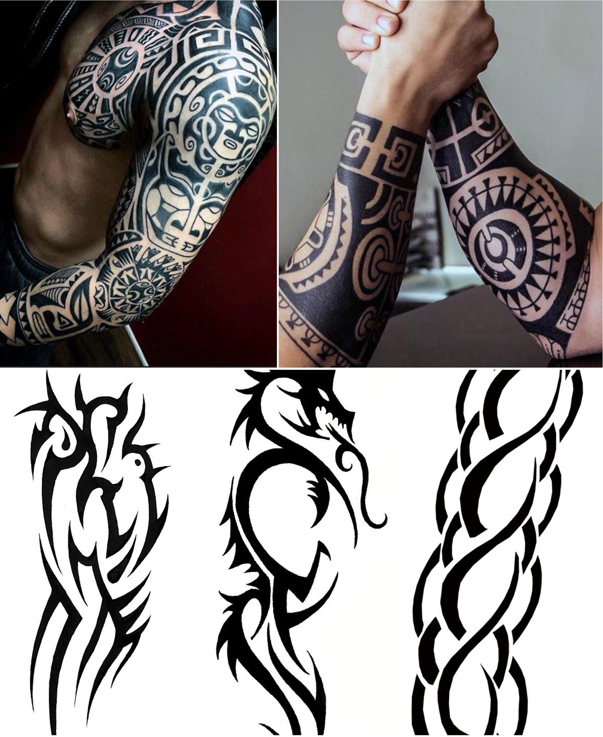 Lower Arm Tribal Tattoo Designs • Arm Tattoo Sites