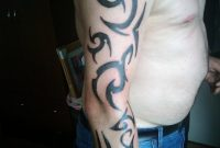 Tribal Tattoo On Arm Sleve Design For Men Tattoomagz inside proportions 774 X 1032