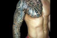 Upper Arm And Chest Tattoo Chest Arm Sleeve Tattoos Upper Arm Sleeve intended for sizing 1024 X 1024