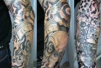 Upper Arm Half Sleeve Tattoo Designs Upper Arm Half Sleeve Tattoo in size 1024 X 926