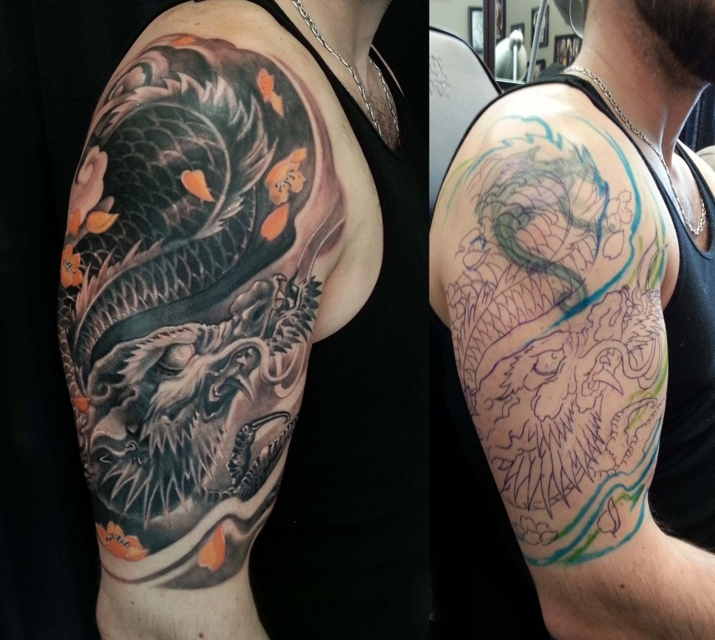 Upper Arm Tattoo Sleeve Ideas Arm Tattoo Cover Up Ideas Tattoo Cover pertaining to size 1024 X 916