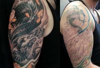 Upper Arm Tattoo Sleeve Ideas Arm Tattoo Cover Up Ideas Tattoo Cover pertaining to sizing 1024 X 916