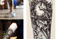 Wholesale New Style For Men Temporary Large Mechanical Arm Tattoo intended for measurements 1000 X 1000