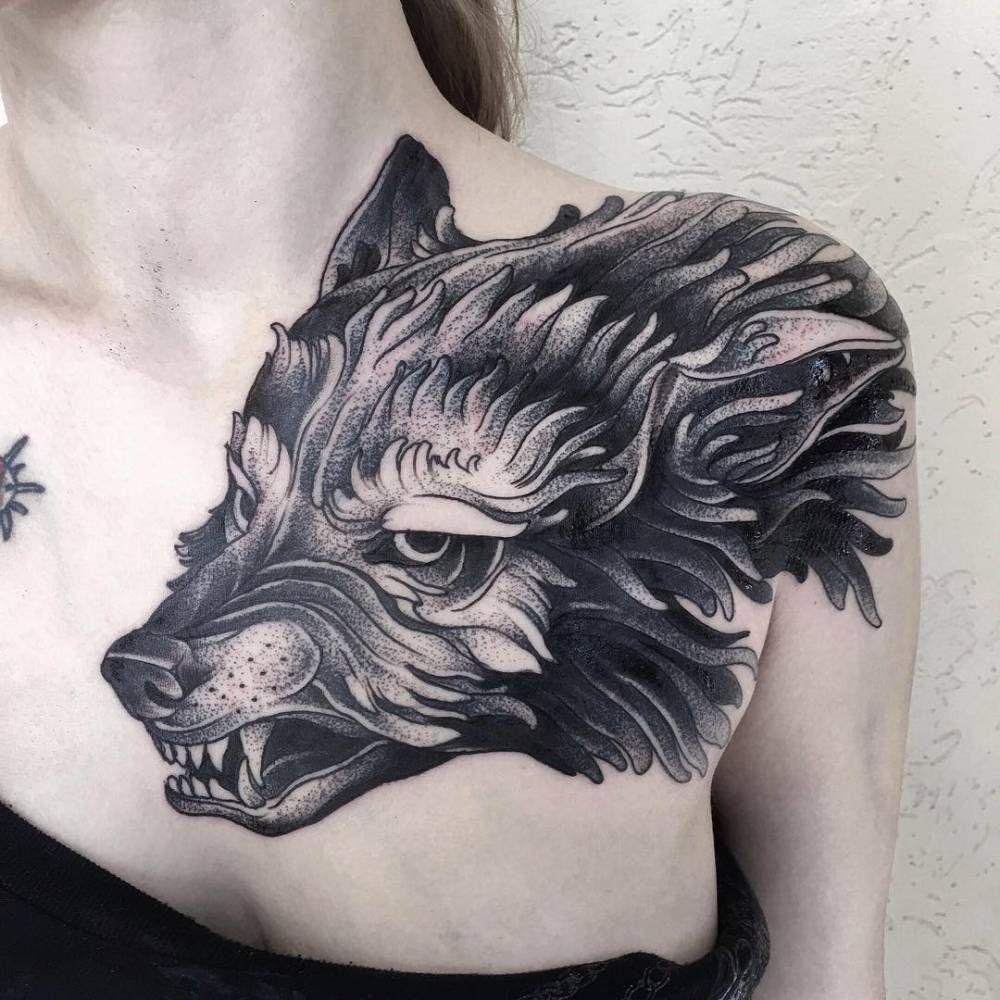 Wolf Tattoo Chest Arm Arm Tattoo Sites