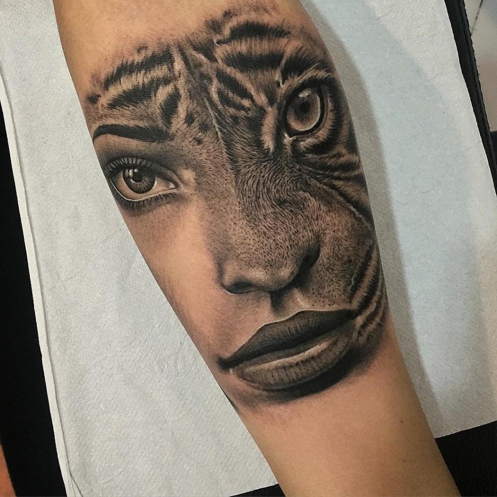 Best Tiger Arm Tattoos • Arm Tattoo Sites