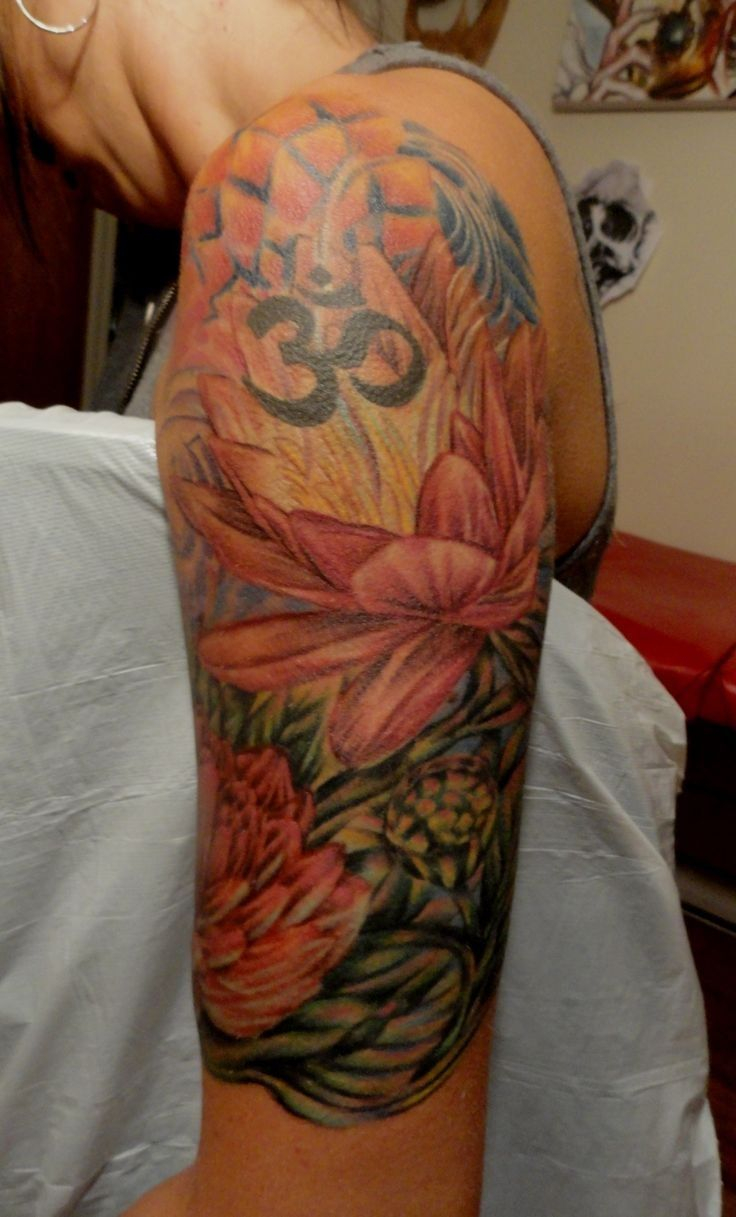 Lotus Flower Upper Arm Tattoo Arm Tattoo Sites