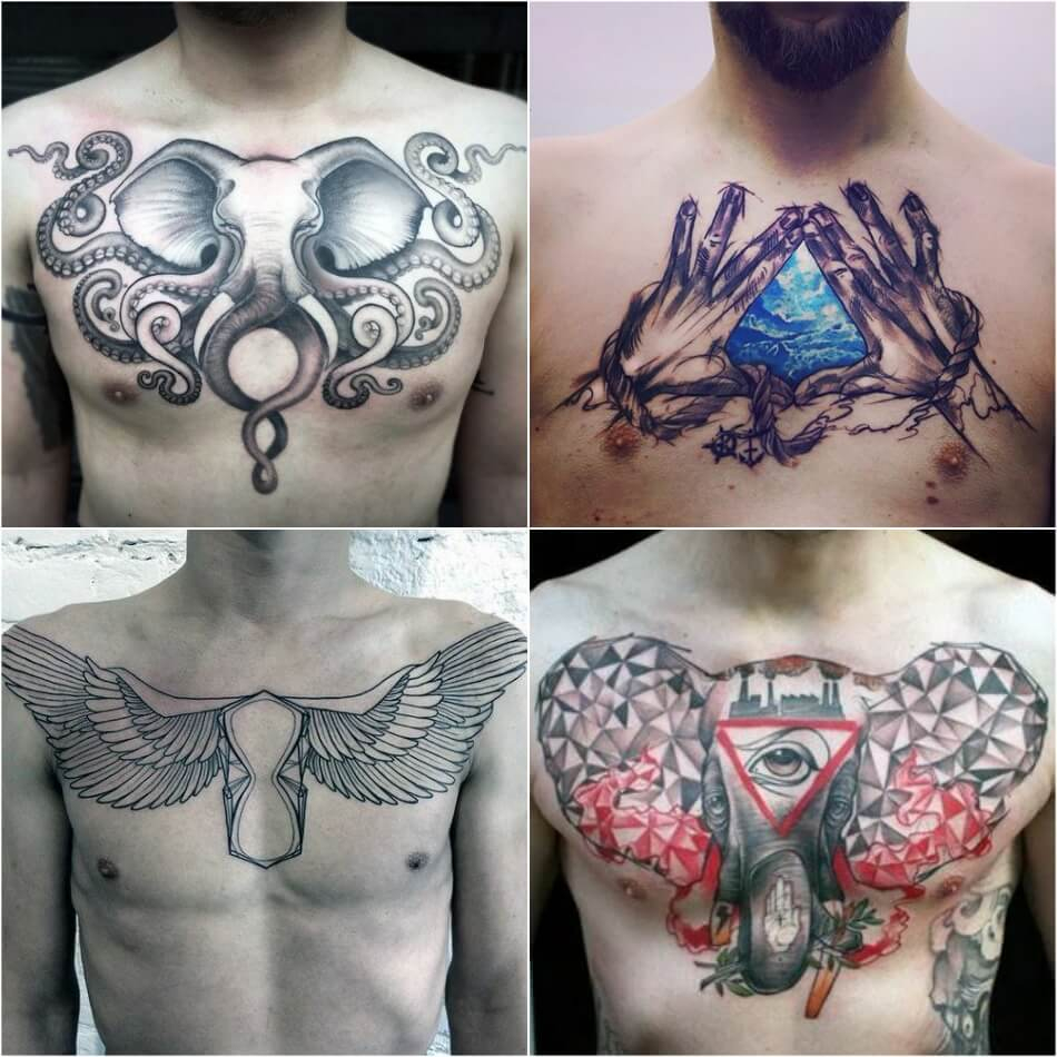 100 Best Chest Tattoos For Men Chest Tattoo Gallery For Men intended for dimensions 950 X 950