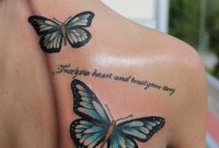20 Cute Butterfly Tattoos On Back For Women Tattoos Butterfly with proportions 730 X 1095