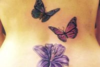 28 Awesome Butterfly Tattoos With Flowers That Nobody Will Tell You throughout proportions 980 X 1204