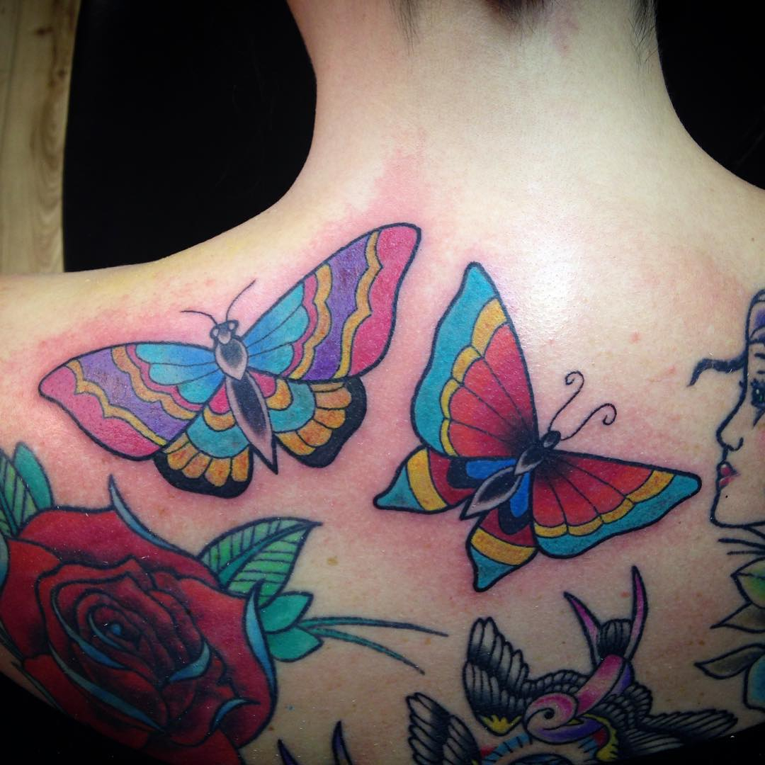 28 Awesome Butterfly Tattoos With Flowers That Nobody Will Tell You with regard to sizing 1080 X 1080